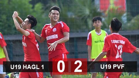 U19 HAGL 1 0-2 U19 PVF: HAGL lại thua ở chung kết