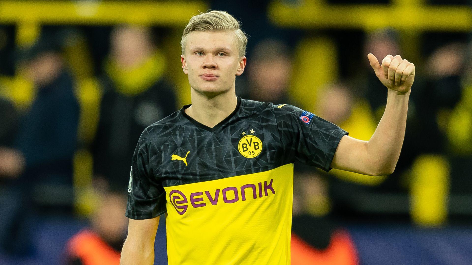 Haaland không muốn rời Dortmund