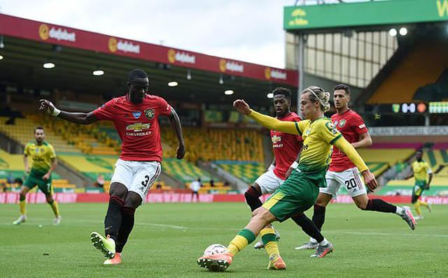 Cantwell đã giúp Norwich có bàn gỡ hòa quý giá