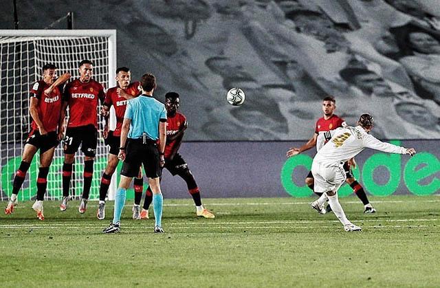 Ramos có thể ghi bàn ở mọi tình huống từ đánh đầu, đá phạt đền hay cả đá phạt trực tiếp...