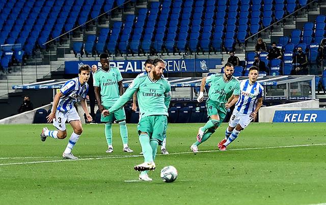 Ramos đang là chất xúc tác giúp Real đua vô địch La Liga với Barcelona
