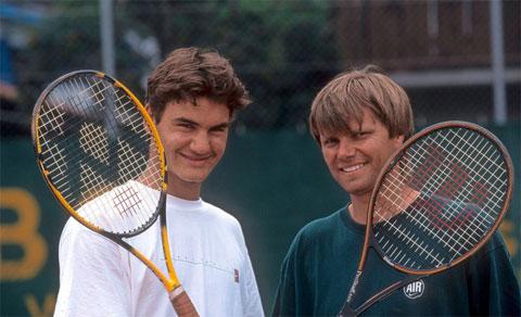 HLV Peter Carter có công lớn trong sự nghiệp của Federer