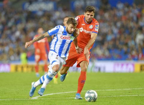 Portu (trái)cùng Sociedad sẽ lại trắng tay trên sân của Getafe