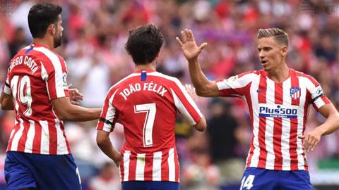Atletico hạ Alaves 2-1: Lại thăng hoa nhờ 'tiền đạo' Llorente