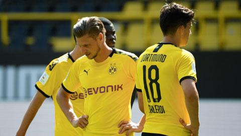 Dortmund dễ dàng buông xuôi trong trận cầu thủ tục với Hoffenheim