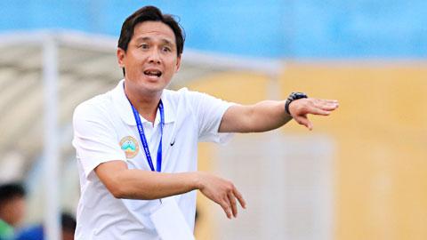 HLV Nguyễn Minh Phương chia tay CLB Bình Phước