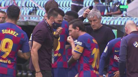 Messi khinh khinh bỏ ngoài tai chỉ đạo từ trợ lý HLV