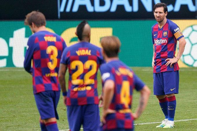Barca có trận hòa đáng thất vọng trước Celta Vigo