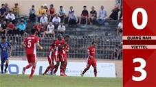 Quảng Nam 0-3 Viettel (Vòng 7 V.league 2020)
