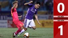 Hà Nội 0-1 Sài Gòn (Vòng 7 V.League 2020)