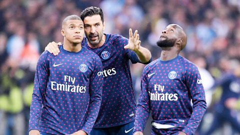 Mbappe nhớ Lass Diarra và Buffon