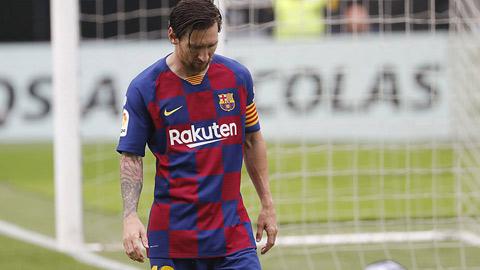 Chưa bao giờ Messi tệ hại như dưới thời Setien
