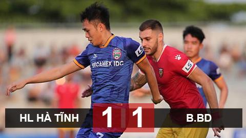 HL.Hà Tĩnh 1-1 B.Bình Dương (Vòng 7 V.League 2020)