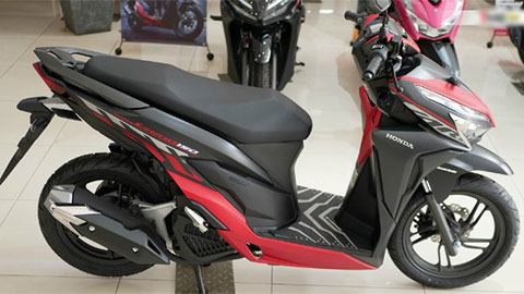 Cận cảnh Honda Vario 150 2020 bản đen đỏ, xọc hổ vằn, ăn đứt Air Blade giá rẻ bất ngờ