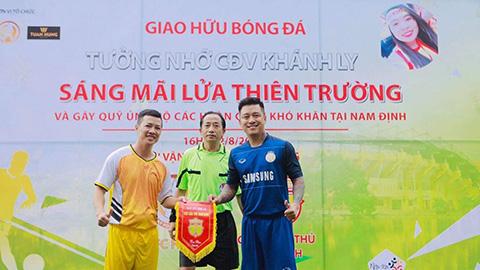 Ca sỹ Tuấn Hưng về Thiên Trường tiếp lửa cho DNH Nam Định