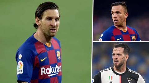 Đưa về Pjanic và chia tay Arthur, Barca đang lãng phí những năm cuối của Messi