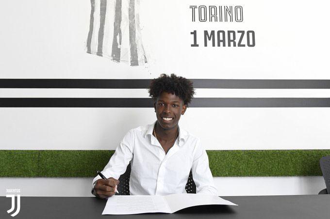 Felix Correia gia nhập Juventus
