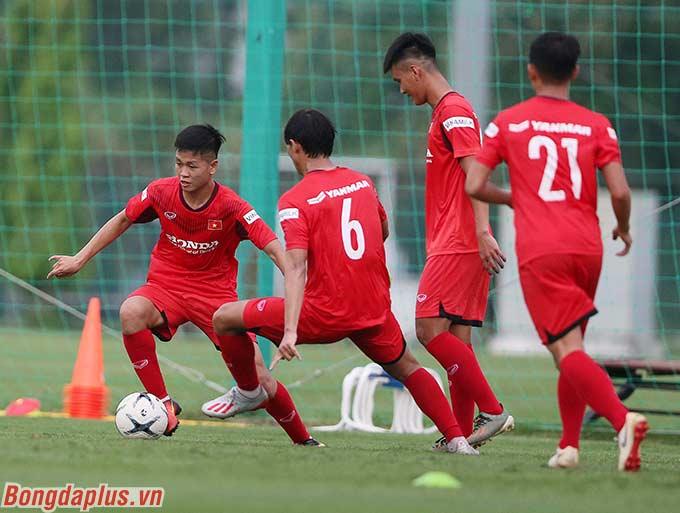 Một số cầu thủ U22 Việt Nam còn chưa từng lên đội tuyển ở cấp độ nào trước đó