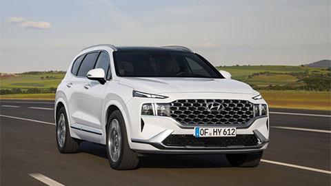 Hyundai Santa Fe 2021 ra mắt với thiết kế siêu đẹp, giá hơn 600 triệu, đe Toyota Fortuner, Ford Everest