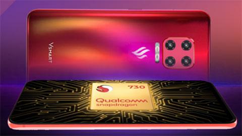 Vsmart Max đẹp long lanh, lộ diện trên Geekbench với chip Snapdragon 730, 6GB RAM, giá hấp dẫn