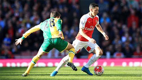 Trực tiếp Arsenal vs Norwich, 0h00 ngày 27