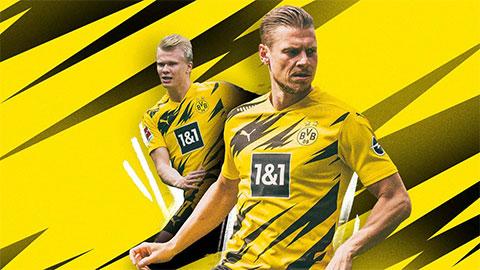 """Dortmund trình làng """"mẫu áo Pikachu"""" ở mùa 2020/21"""