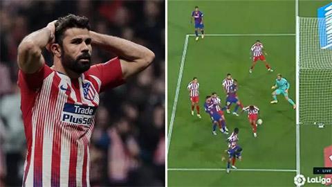 6 phút thảm họa của Diego Costa tại Camp Nou