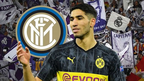 Inter chính thức hoàn tất thương vụ Hakimi, giá 40 triệu euro