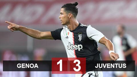 Genoa 1-3 Juventus: Ronaldo lập siêu phẩm, Juventus vững vàng trên đỉnh
