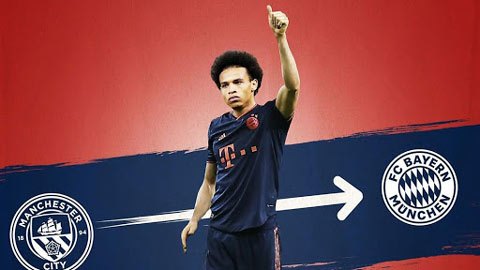 Bayern đạt thỏa thuận với Sane, làm hài lòng Man City với mức giá hợp lý trong mùa Covid-19