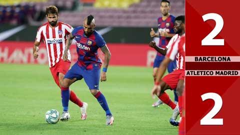 Barcelona 2-2 Atletico Madrid (Vòng 33 La Liga 2019/20)