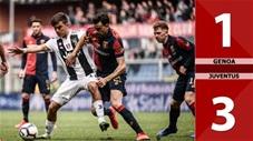 Genoa 1-3 Juventus (Vòng 29 Serie A 2019/20)