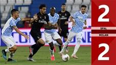 SPAL 2-2 Milan (Vòng 29 Serie A 2019/20)