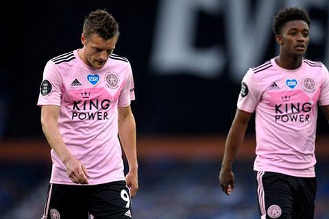 Leicester nhiều khả năng sẽ bị đánh bật khỏi Top 4 vào cuối mùa giải