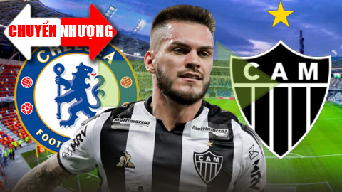 Tổng hợp chuyển nhượng 27: Chelsea bán tiền vệ người Brazil cho Atletico Mineiro với giá bèo