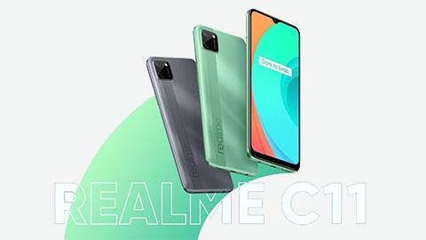 Realme C11 ra mắt với chip Helio G35, pin 5000mAh, giá siêu rẻ 'đấu' Xiaomi Redmi 9