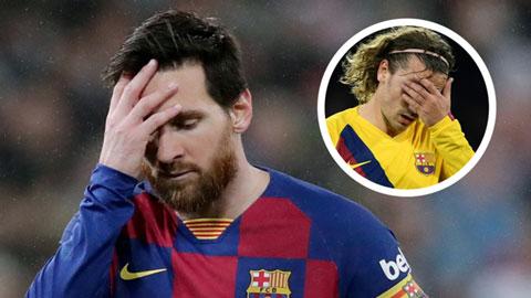 """Tiền bối Dugarry khuyên Griezmann đấm """"tên tự kỷ mét rưỡi"""" Messi"""