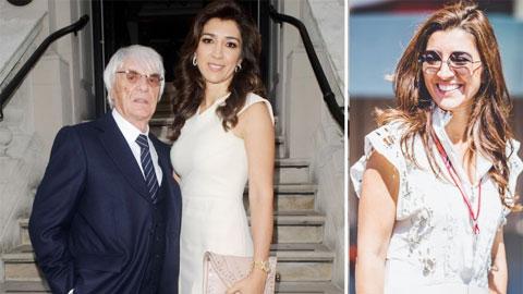 Trùm F1 đón quý tử ở tuổi 89