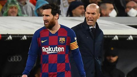 Zidane mong Messi tiếp tục gắn bó với Barca