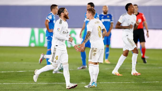 Ramos và các đồng đội thi đấu kém thuyết phục nhưng vẫn có được chiến thắng