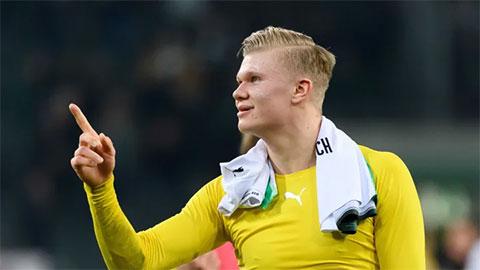 Haaland được Dortmund trao số áo từng thuộc về Lewandowski