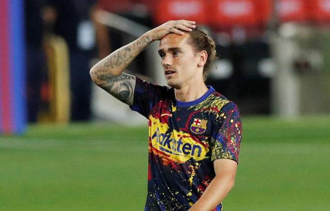 Tương lai của Griezmann ở Barca đang bị đặt dấu hỏi lớn