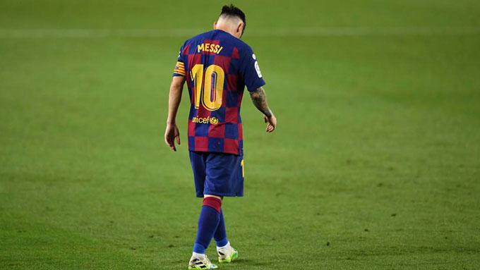 Messi quá bế tắc tại Barca