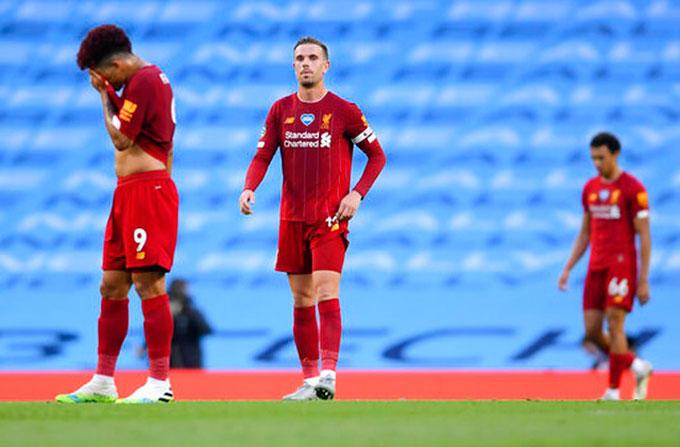 Liverpool đã có một trận đấu vô cùng bạc nhược ngay sau khi chính thức đăng quang