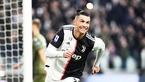 Ronaldo bứt tốc ngoạn mục
