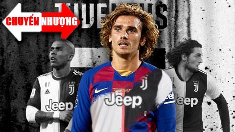 Tổng hợp chuyển nhượng 3/7: Juventus dùng Rabiot và Douglas Costa để đổi Griezmann