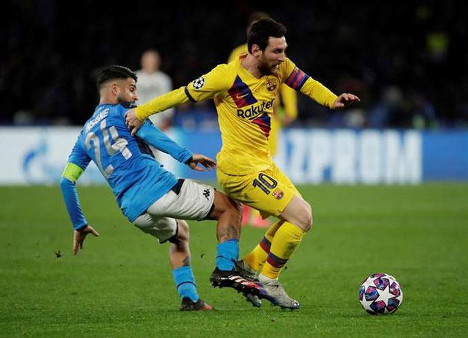 """Inter, Napoli và những đội bóng khiến Messi cũng phải """"tắt điện"""""""