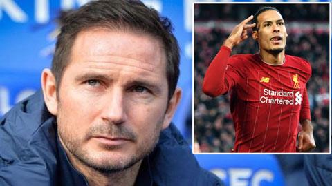 Lampard: 'Chelsea cần một Van Dijk để đua vô địch'