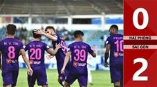 Hải Phòng 0-2 Sài Gòn FC (Vòng 8 V.League 2020)