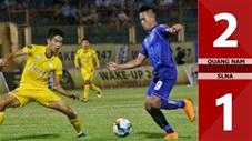 Quảng Nam 2-1 SLNA (Vòng 8 V.League 2020)